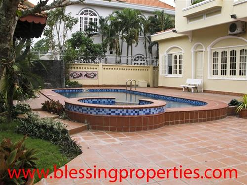 Villa P680 - Villa for rent in An Phu, HCM city, Vietnam