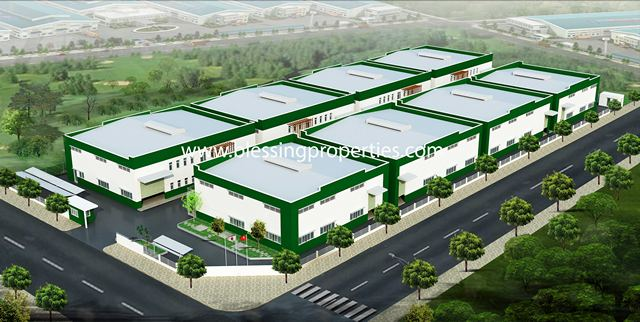 Brand New Series Of Small Factory For Rent In Binh Duong