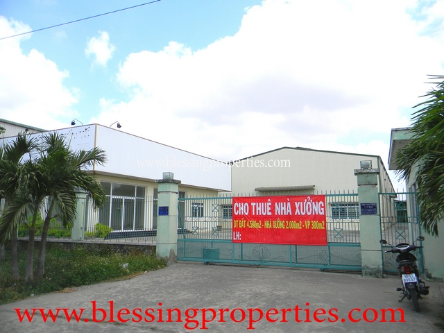Factory For Lease Outside Industrial Park In Long An Province
