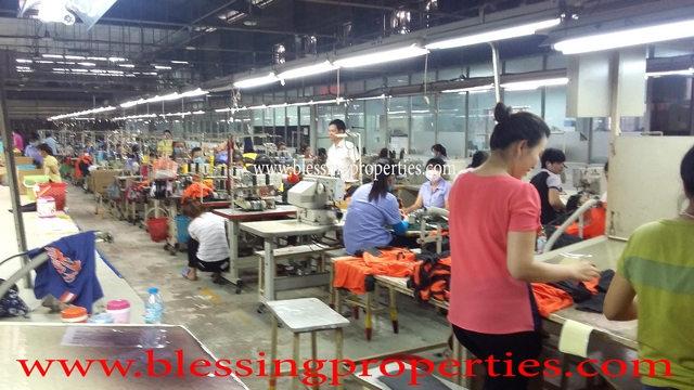 Garment Factory For Lease in Binh Dương - Garment Factory For Lease