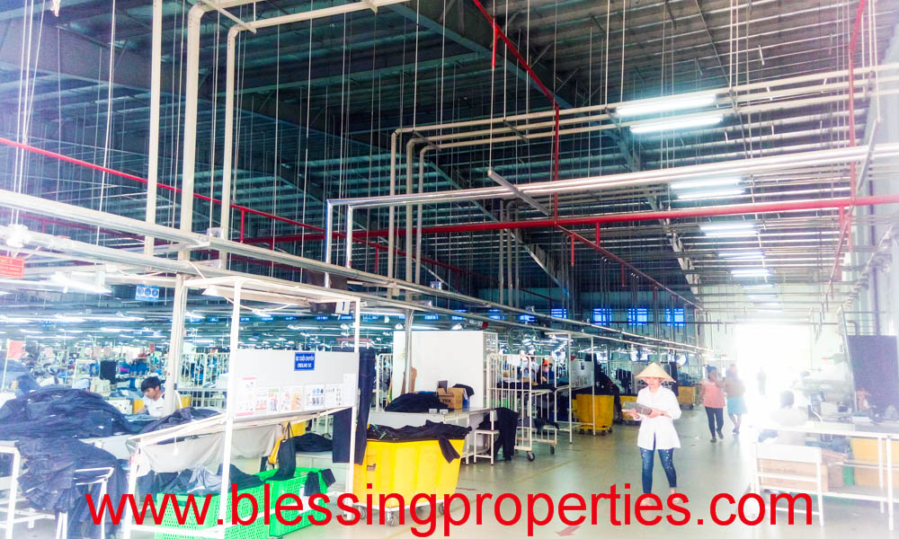 Huge Garment Factory For Lease in Vietnam