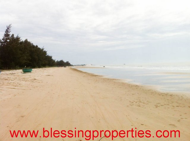 Building Sea Resort Land For Sale in Ham Thuan Nam District, Binh Thuan Province