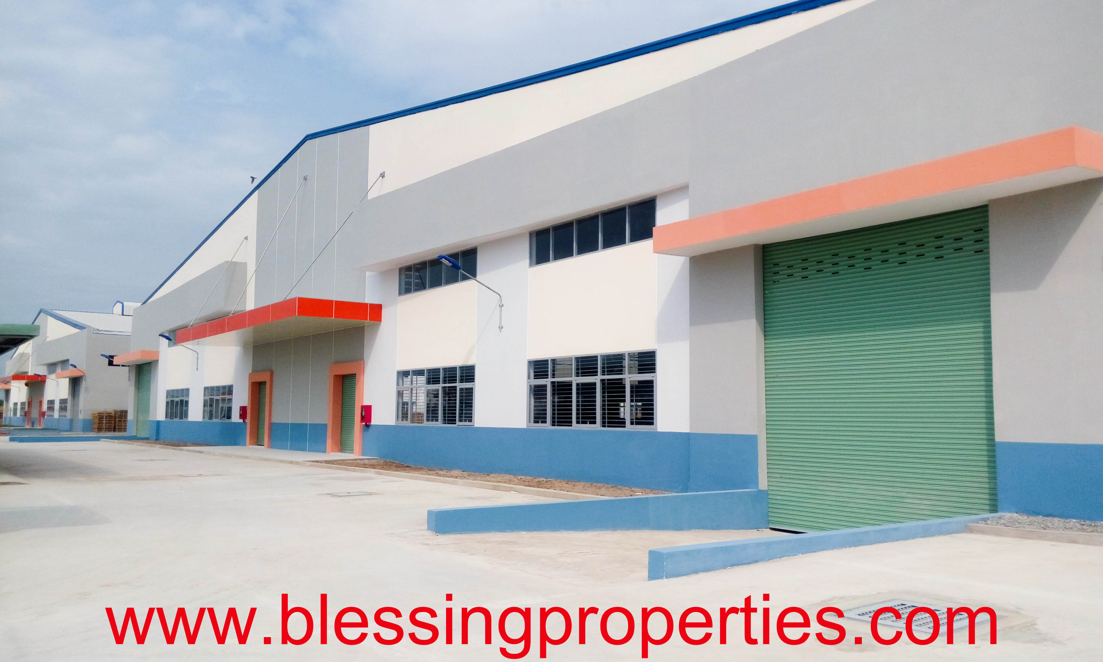 Brand New Factory inside Industrial Park For Lease in Vietnam
