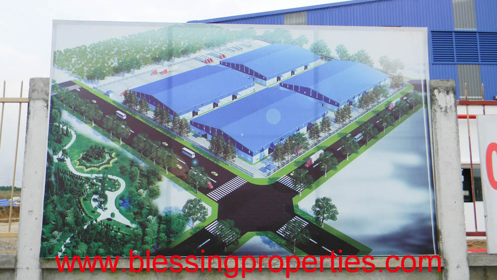 Brand New Factory For Lease inside industrial Park in Dong Nai Province