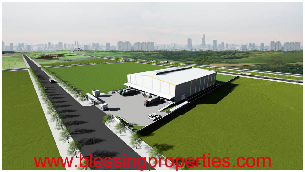 Brand New Logistic Warehouse For Lease In Cat Lai Industrial Park in Hochiminh City