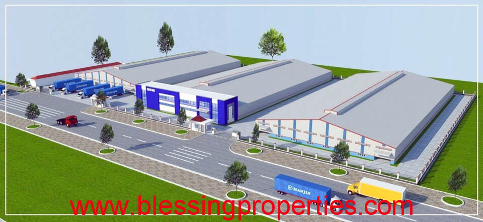 Built To Suit Factory Project For Lease inside Industrial Park in Binh Duong