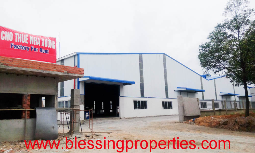 Huge Brand New Factory For Lease inside industrial Park in Vietnam