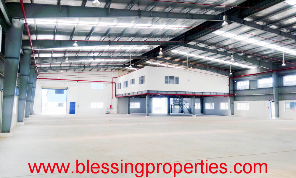 Brand New Factory Project For Lease inside industrial Park in Vietnam