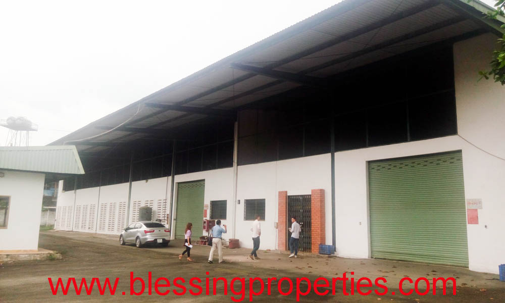 Small Garment Factory Inside Industrial Park For Sale.