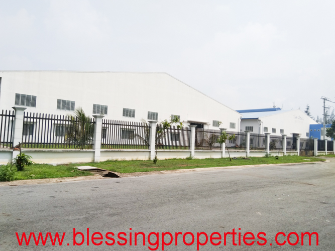 Huge Factory For Rent inside Industrial Park