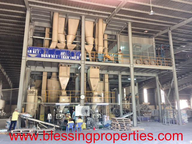 Huge Processing Animal Feed Factory For Sale in Vietnam