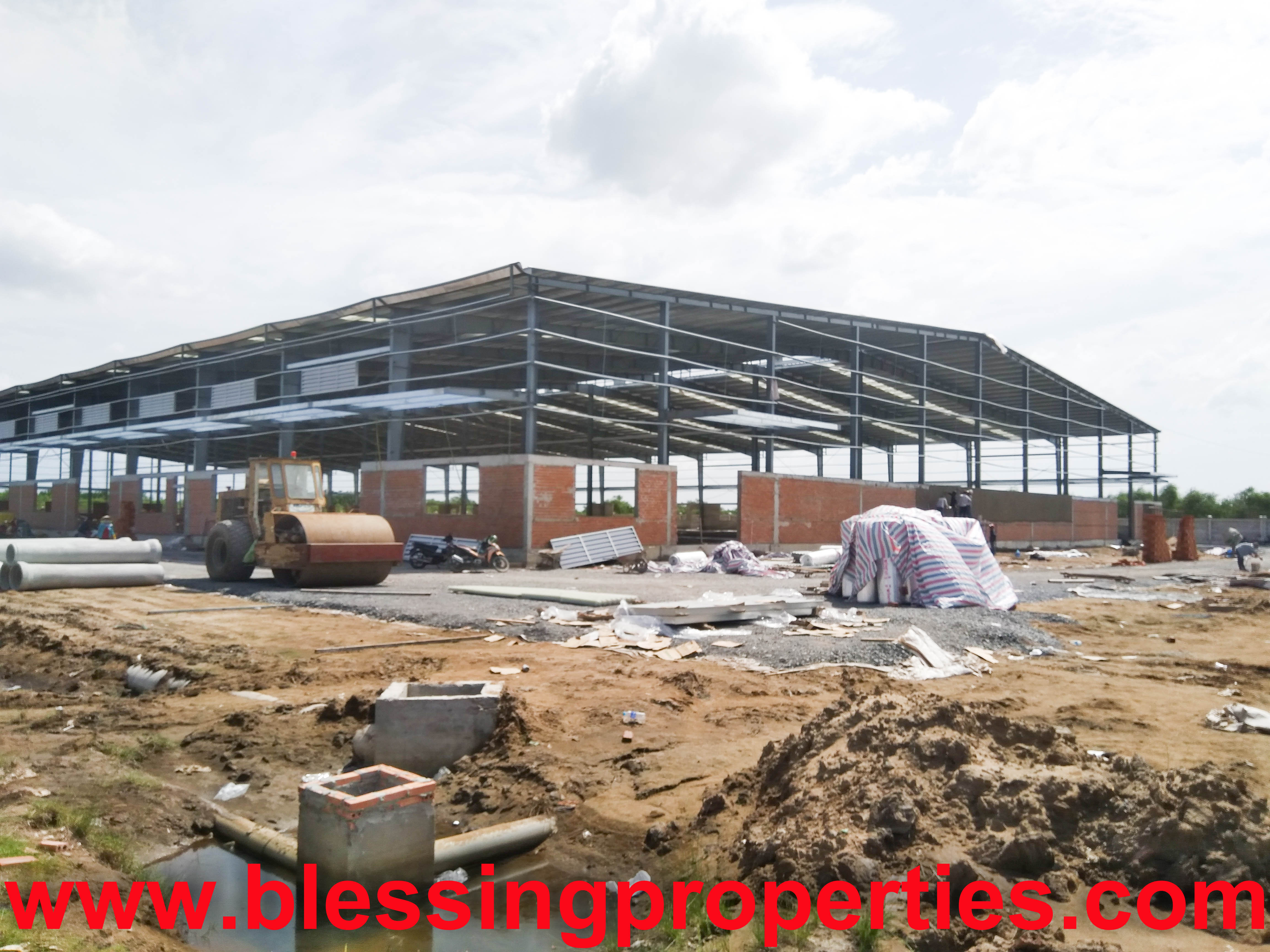 Brand New Factory/Warehouse For Lease Inside Industrial Park in Vietnam