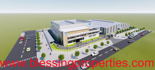 Chemical Manufacturing Factory For Lease inside Industrial Park In Vietnam