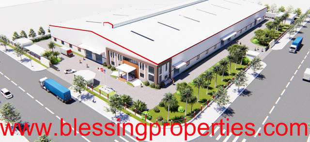 Brand New Factory For Lease Inside Industrial Park in Vietnam