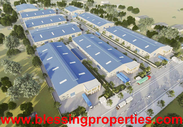 Built Factory For Lease Project Inside Industrial Park